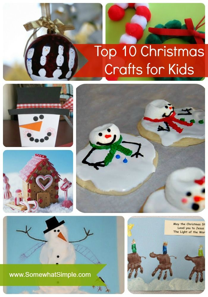 Top 10 Christmas Crafts for Kids easy