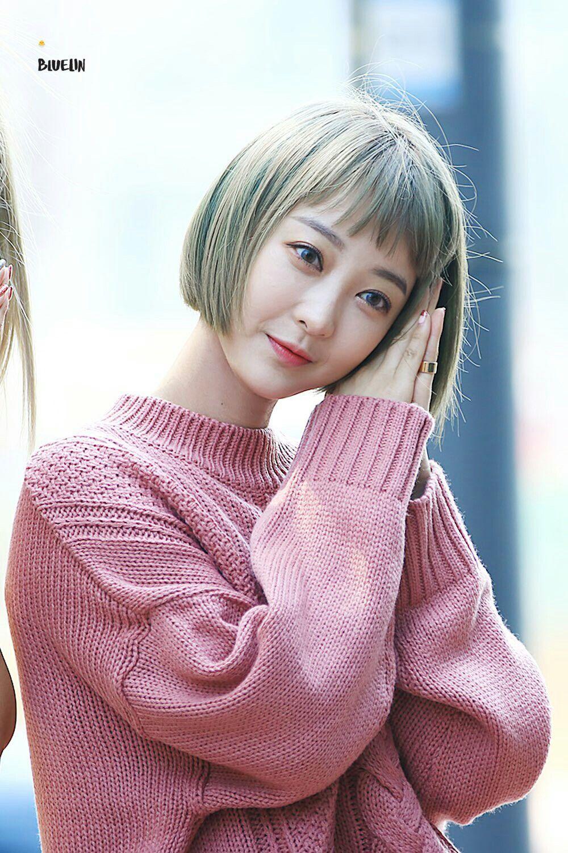 Exid Hyerin Kpop Girls Kpop Girl Groups Asian Hair Bob