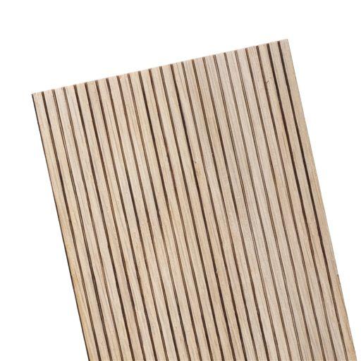 1 8 Lap Oak Beadboard Sheet 12 L Beadboard Oak Sheet