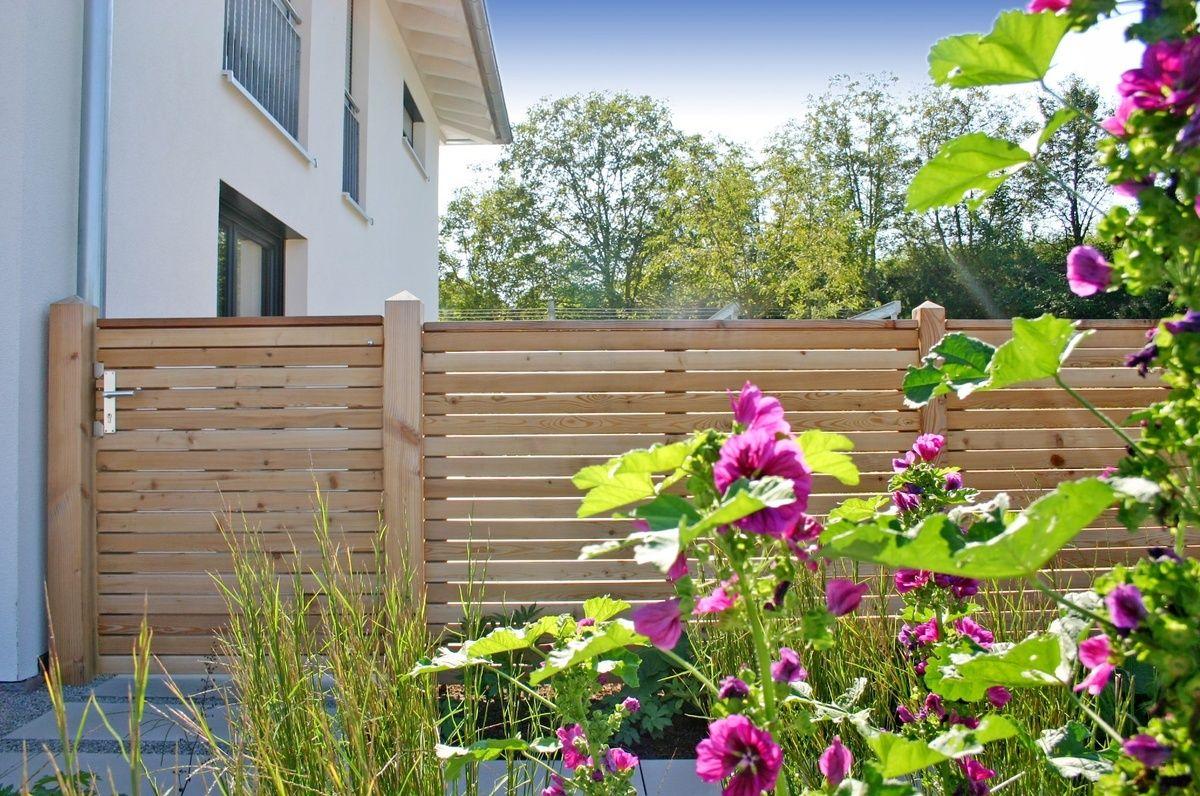 Wie Dir Sichtschutz Auf Der Terrasse Und Im Garten Gelingt. Hier ... Gartengestaltung Ideensichtschutz Metall