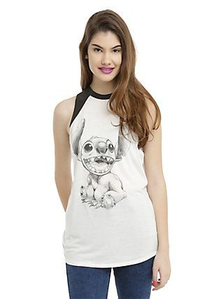 Disney Lilo & Stitch Sketch Muscle Top,