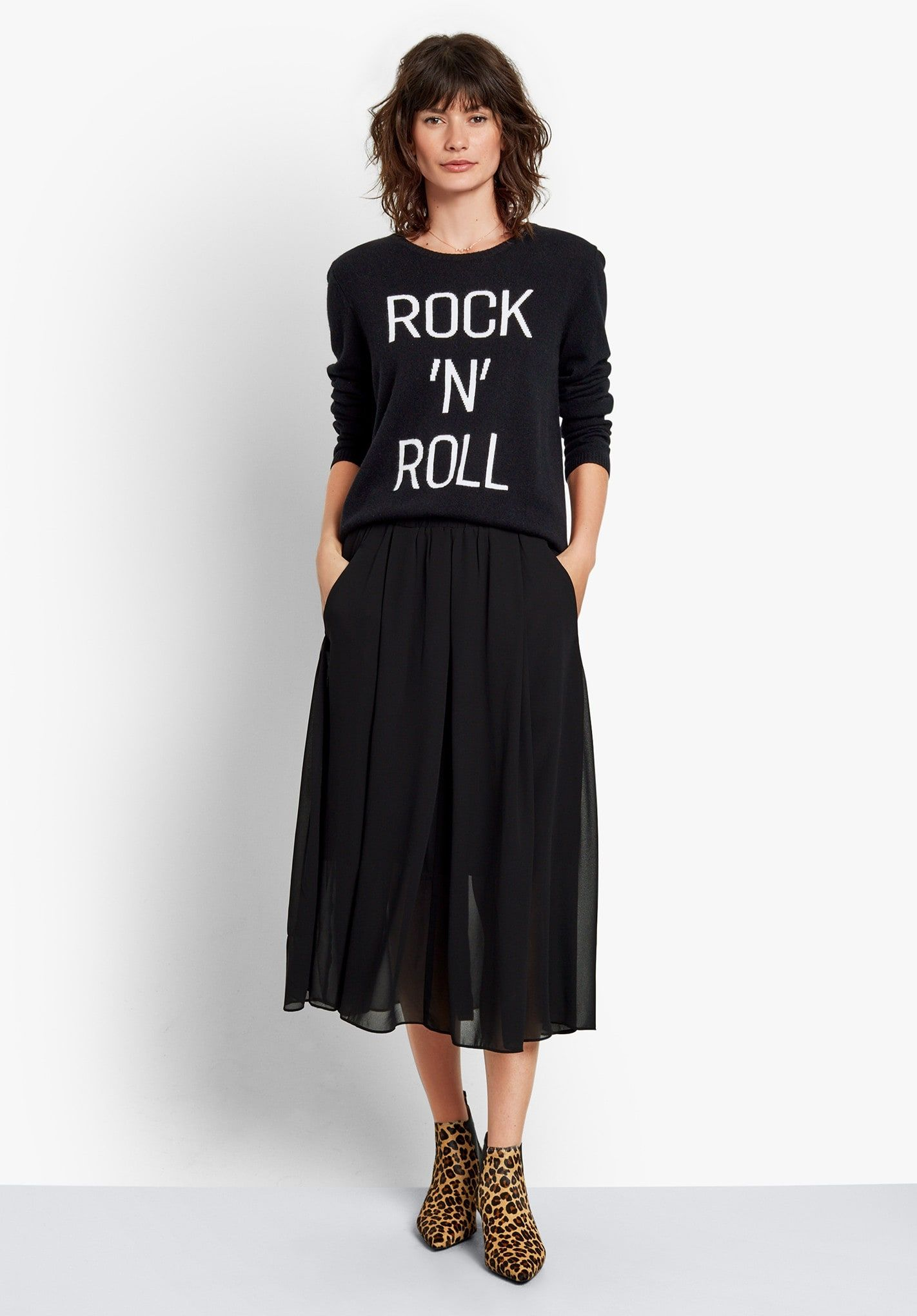 49162663c Buy Marina Skirt from Hush: This perfect all season skirt, is our go-to  desk-to-dinner piece. The outer of the skirt is chiffon in style, team with  our ...
