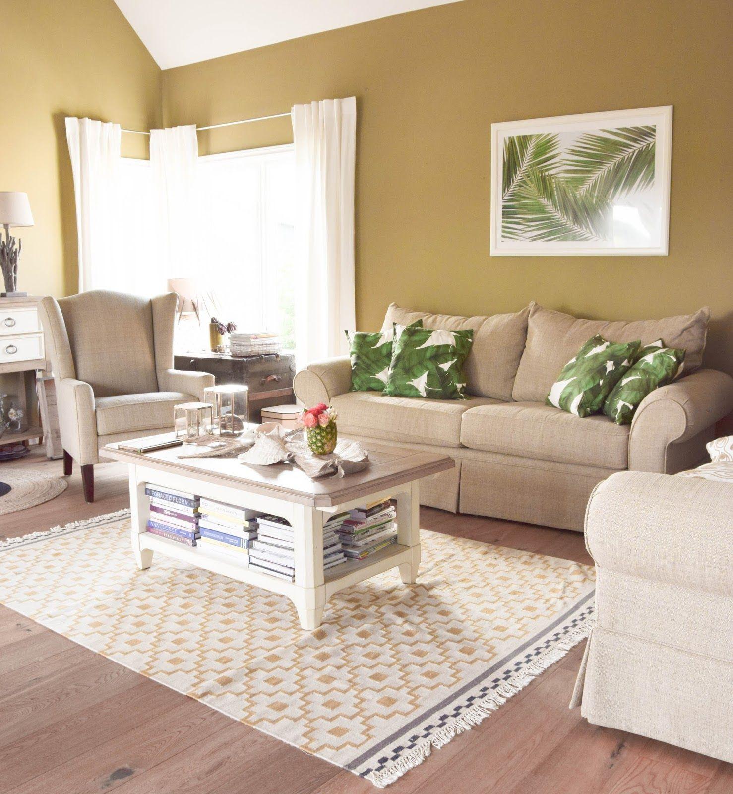 sommer deko fürs wohnzimmer: dekoideen, tipps und mehr: dekoration, Wohnzimmer
