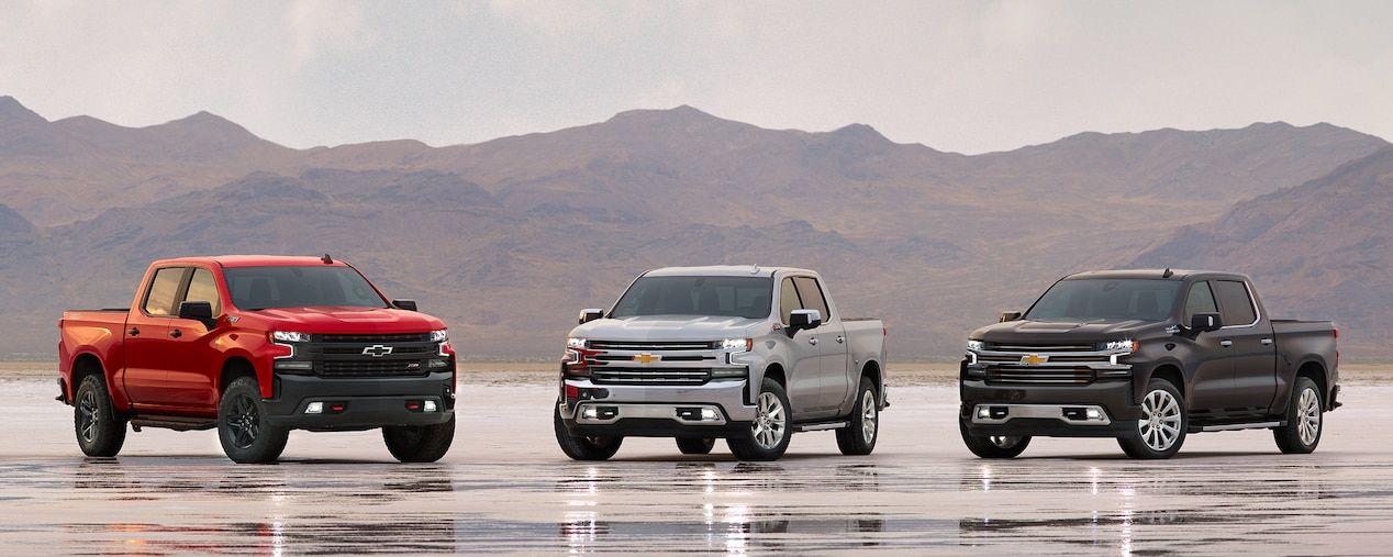 2019 Silverado 1500s Chevy Silverado 1500 Pickup Trucks