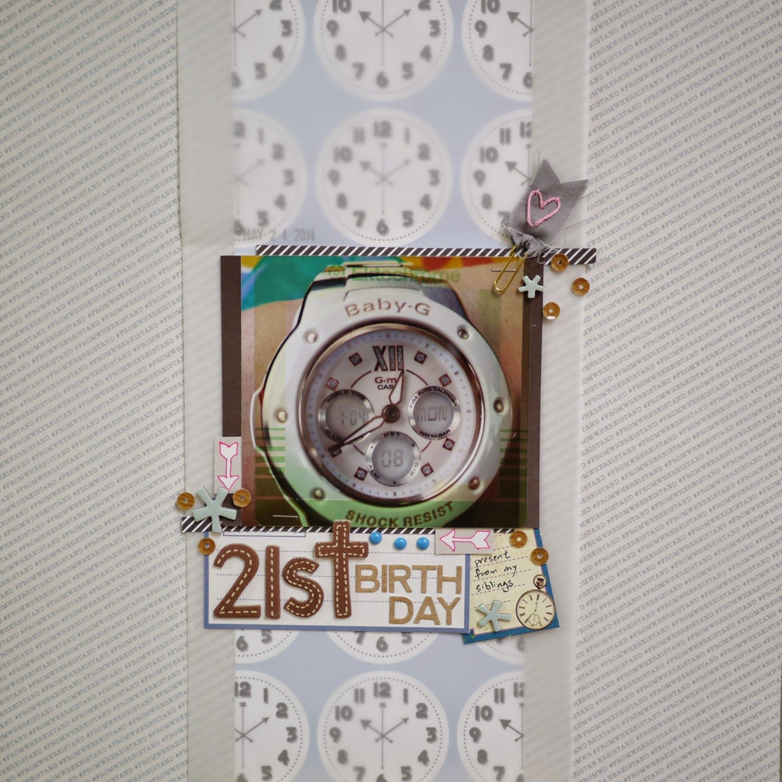 21st Birthday by PeiFang_Alice @ alice-in-craftyland.blogspot.com