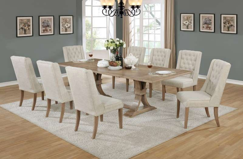 Mariano Furniture D37 9 Piece Dning Table Set Bq D37 9pc Interior Design Dining Room Dining Room Sets Dining Table Setting