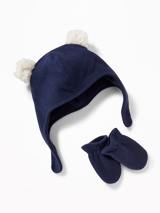 Performance Fleece Hat   Mittens Set for Baby  8115958519e