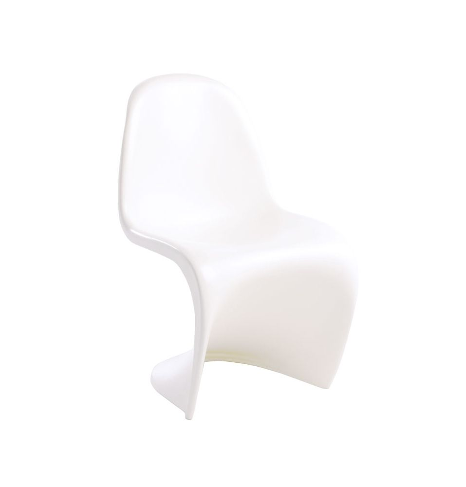 replica verner panton chair junior matt blatt 33cm w x 60cm h x