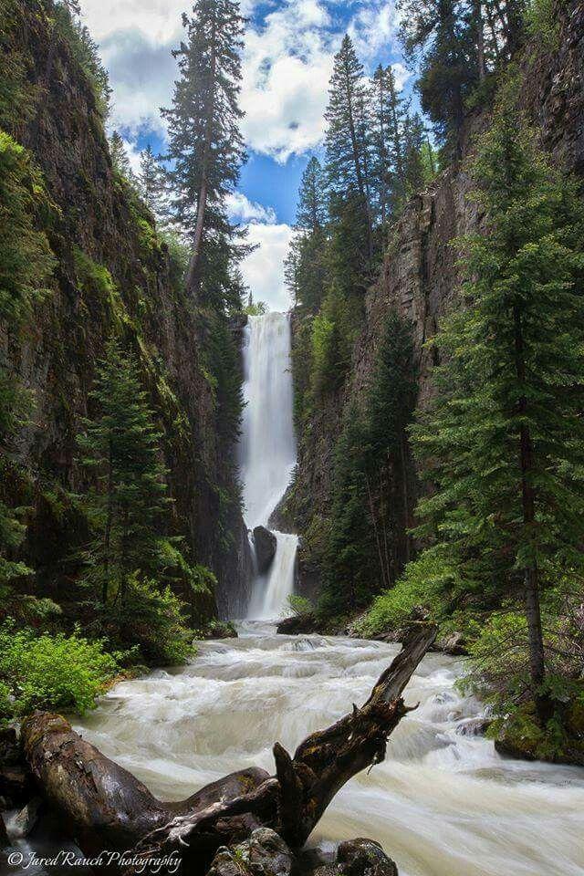 Mystic Falls Near Telluride Colorado With Images Colorado