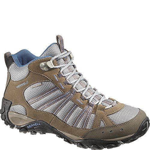 Gelert Mens Altitude Walking Boots Shoes Lace Up Breathable Waterproof Padded