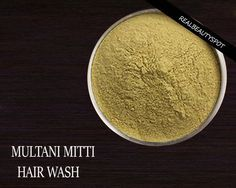Hair Wash With Multani Mitti Fuller S Earth Diy Hair Hair