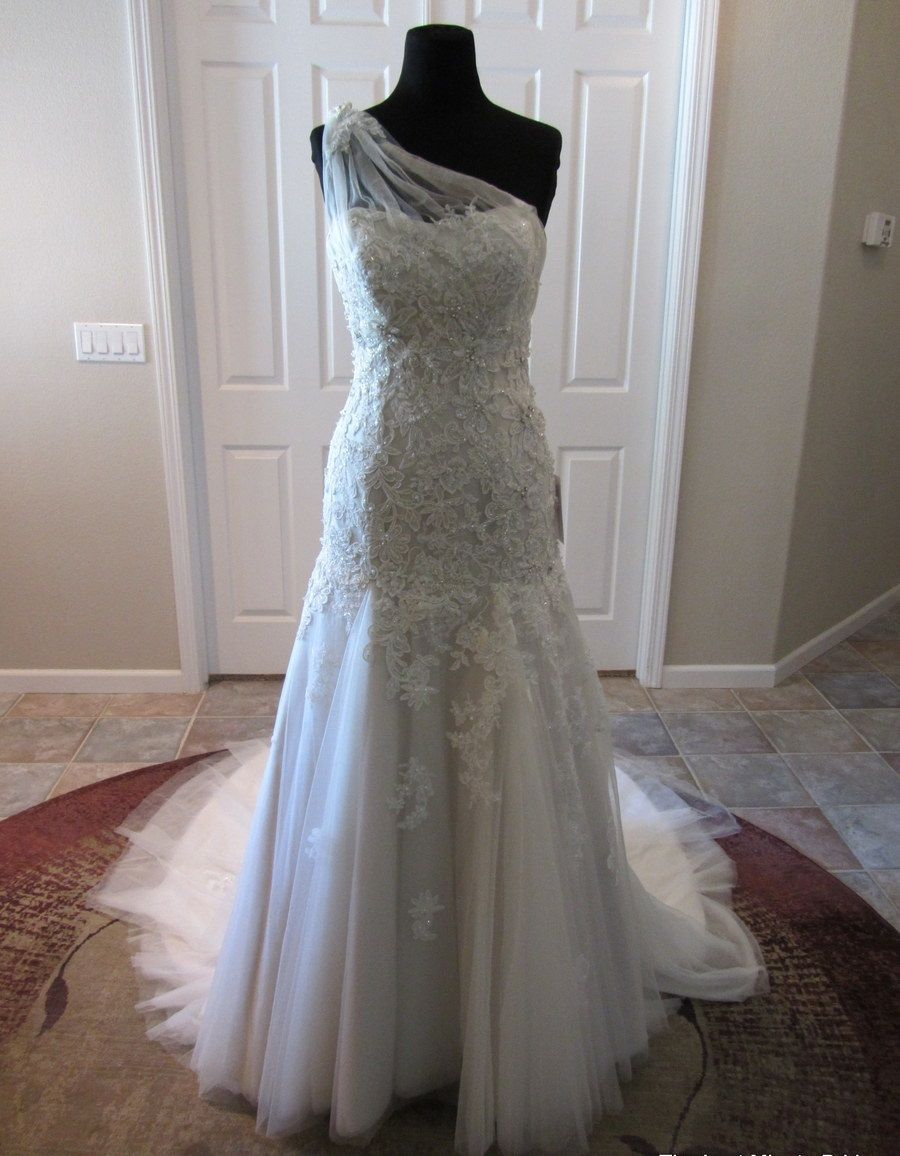 7e3c9ff2015 Maggie Sottero Bernadine Size 6 Wedding Dress – OnceWed.com in 2019 ...