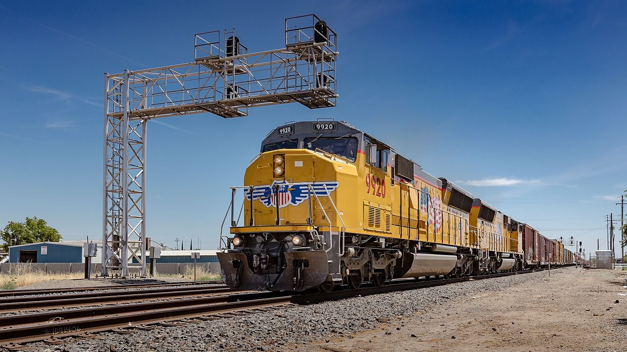 Imagem Gratis No Pixabay Eua California Trem Union Pacific Train Train Union Pacific Railroad