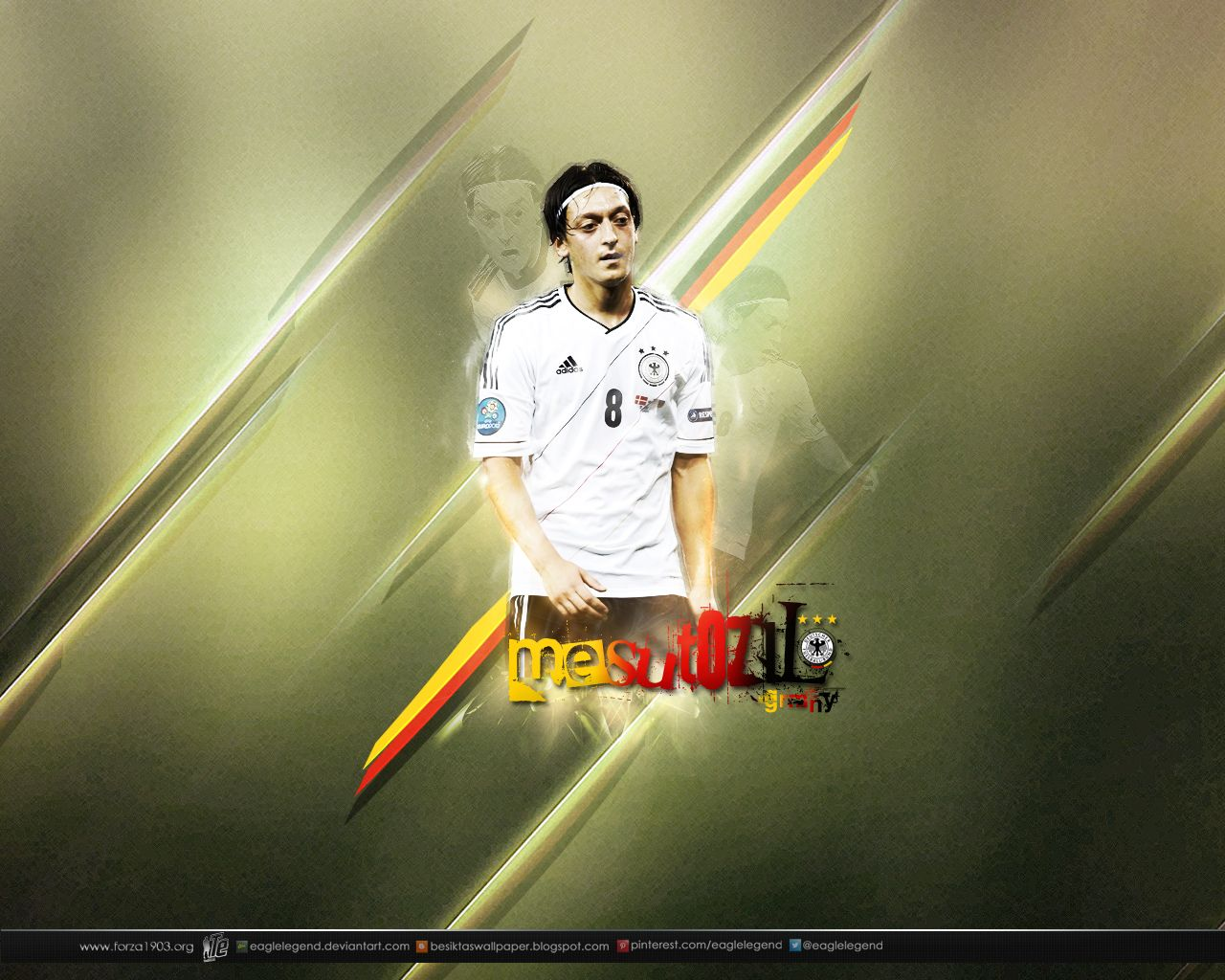 Mesut Ozil #Wallpaper By Eaglelegend.deviantart.com On