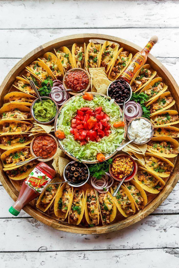 Easy Taco Recipe Dinner Board