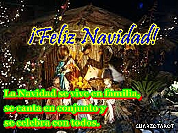 BUSCAR EL LADO POSITIVO DE LA NAVIDAD.  https://www.cuarzotarot.es/navidad #FelizDomingo #Navidad #Inmaculada