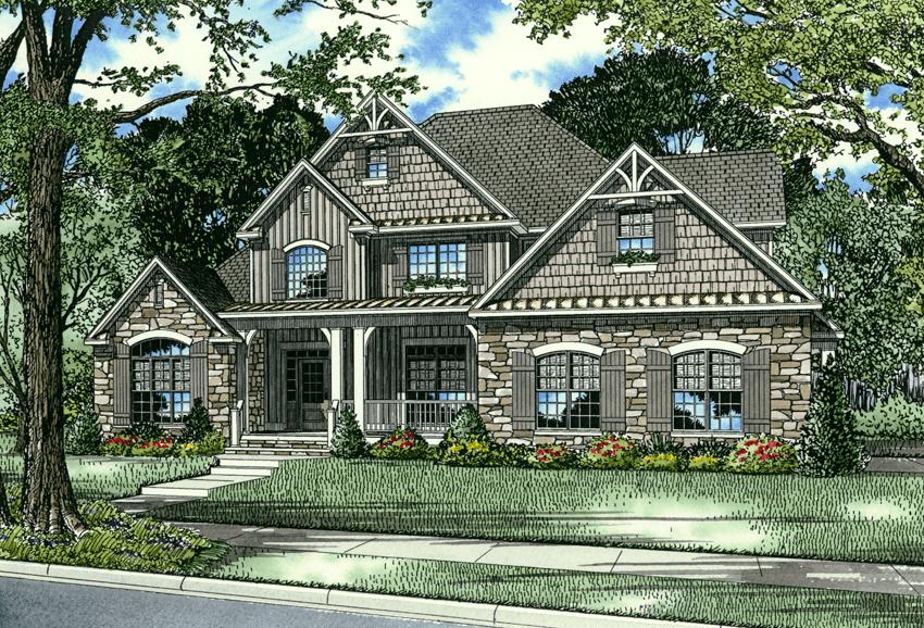 983B Annabel Cove | Nelson Design Group | house plans | Pinterest ...