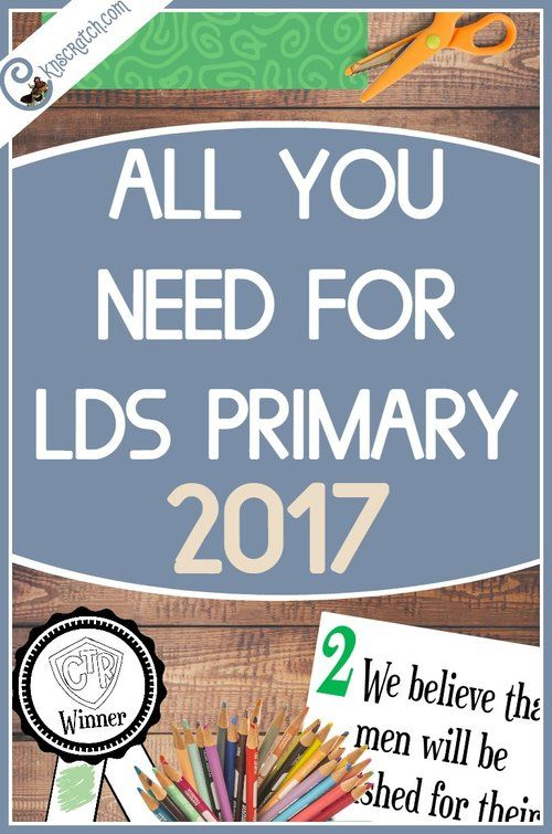 2017 Primary Theme Resources: Choose the Right | Primaria sud, LDS y ...