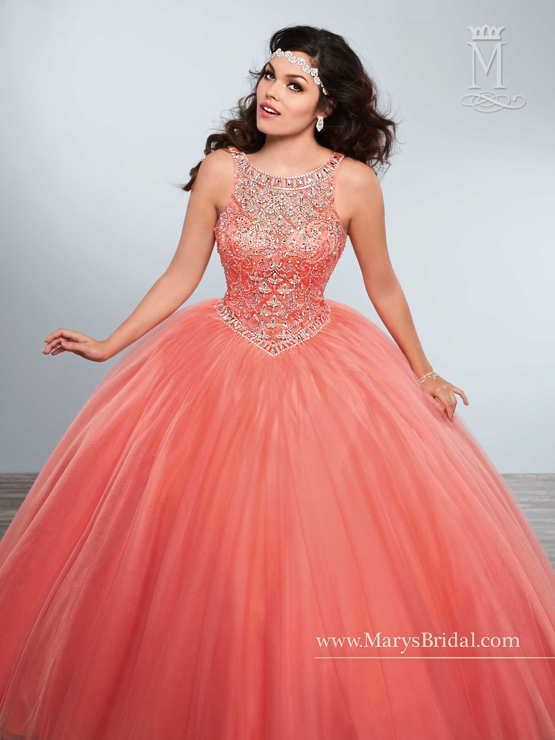 Quinceanera - Princess - Style: 4Q429 by Mary\'s Bridal Gowns ...