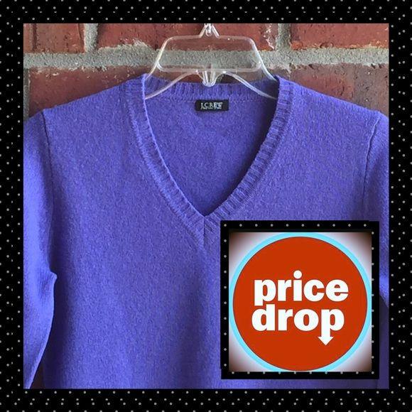 J. Crew Sweater Purple J. Crew Sweater in Like New Condition! J. Crew Sweaters