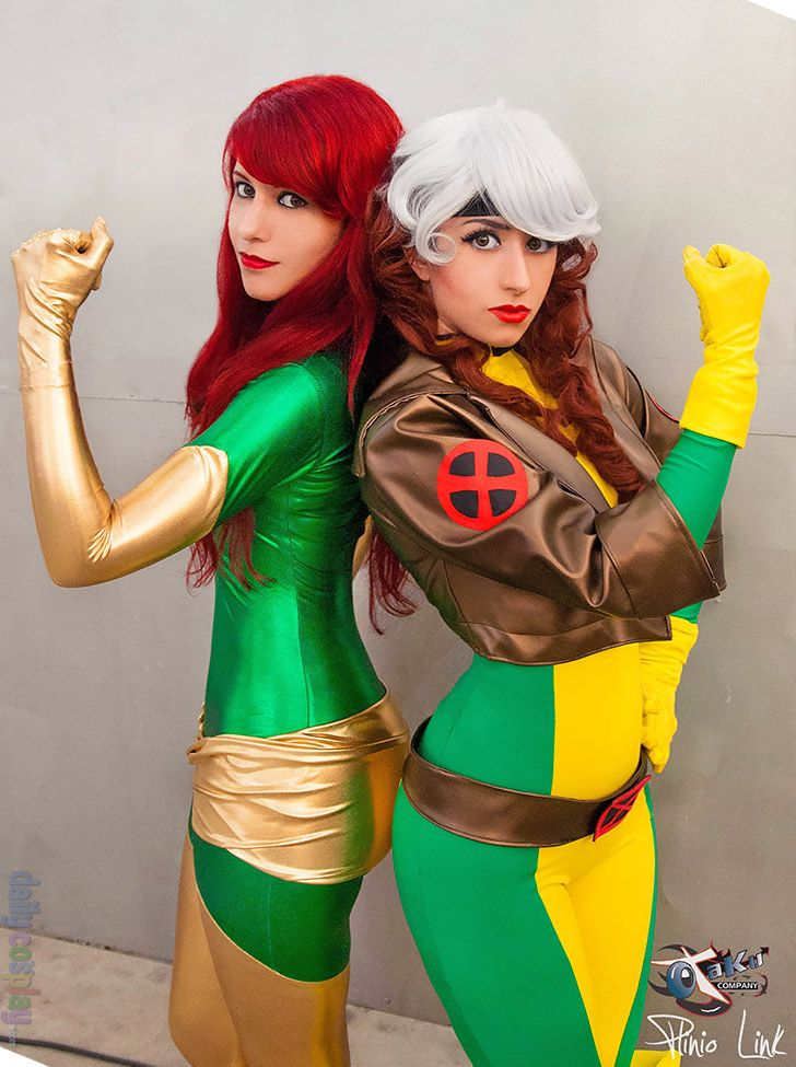 Rogue from X-Men More at   dailycosplay/2013/December/16b - mens halloween costume ideas 2013