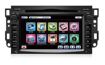 Autoradio Dvd Gps Gmc Yukon Suburban Tahoe Acadia Buick Enclave Avec Ecran Tactile Fonction Bluetooth Gps Ipod Radio