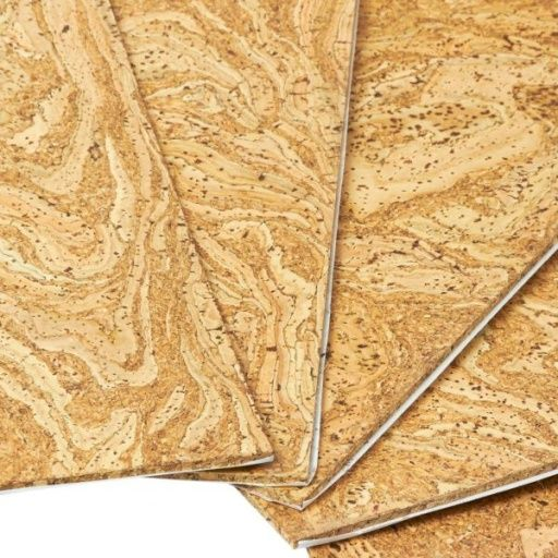 Quickfix Decorative Cork Floor Tiles Ready Sealed Self Adhesive Cork Flooring Tile Floor Flooring