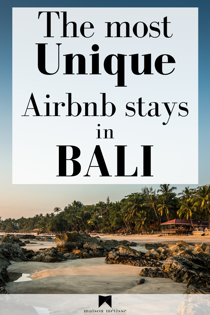 Planning a holiday? Already booked your flights but don't know where to stay? look no further! I have scrolled for hours to find the most unique Airbnb Stays in Bali, so you can experience the Island in the most authentic way. #Traveldestinations #airbnb #bali #travelaccomodation