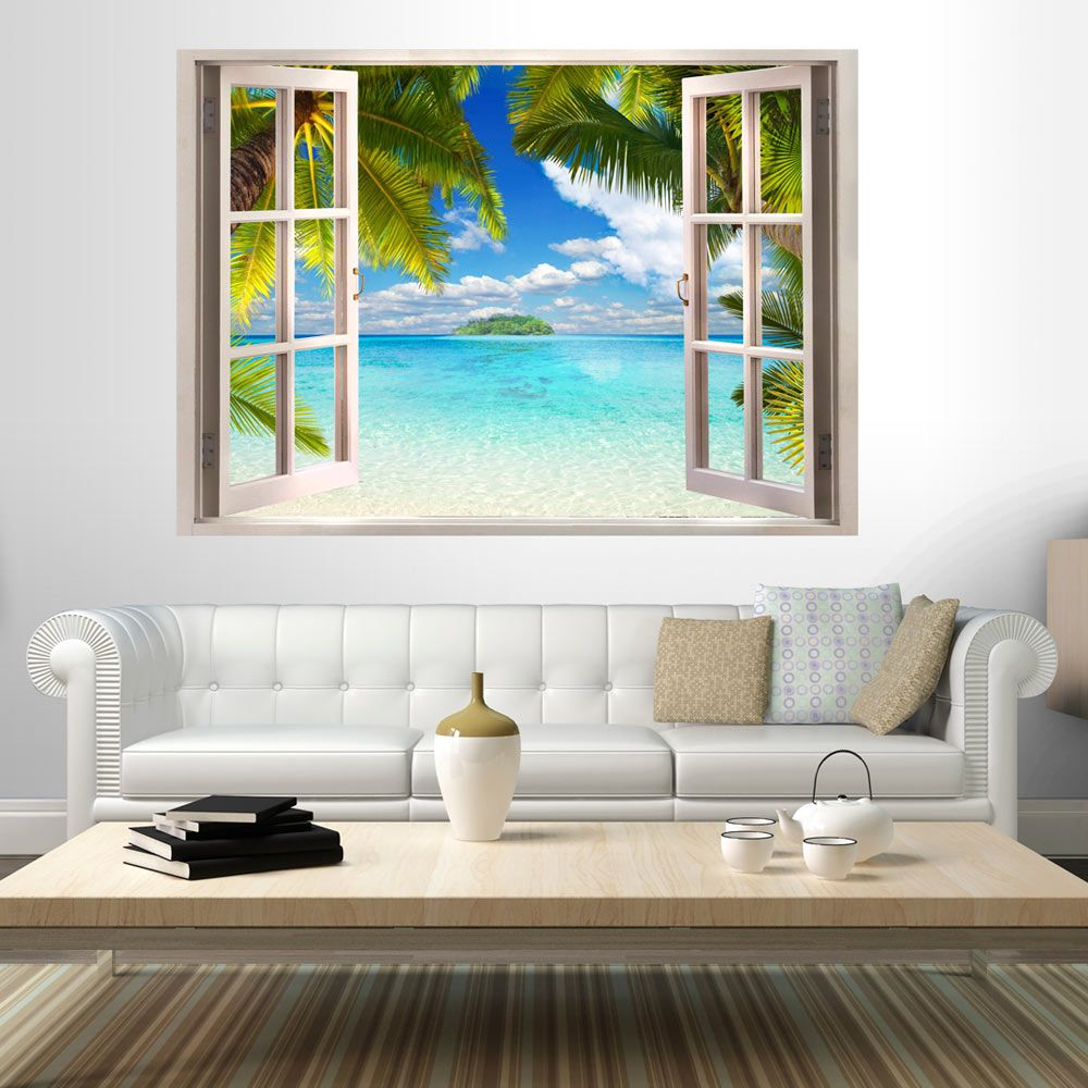 Details about 3D WALL ILLUSION WALLPAPER MURAL PHOTO PRINT