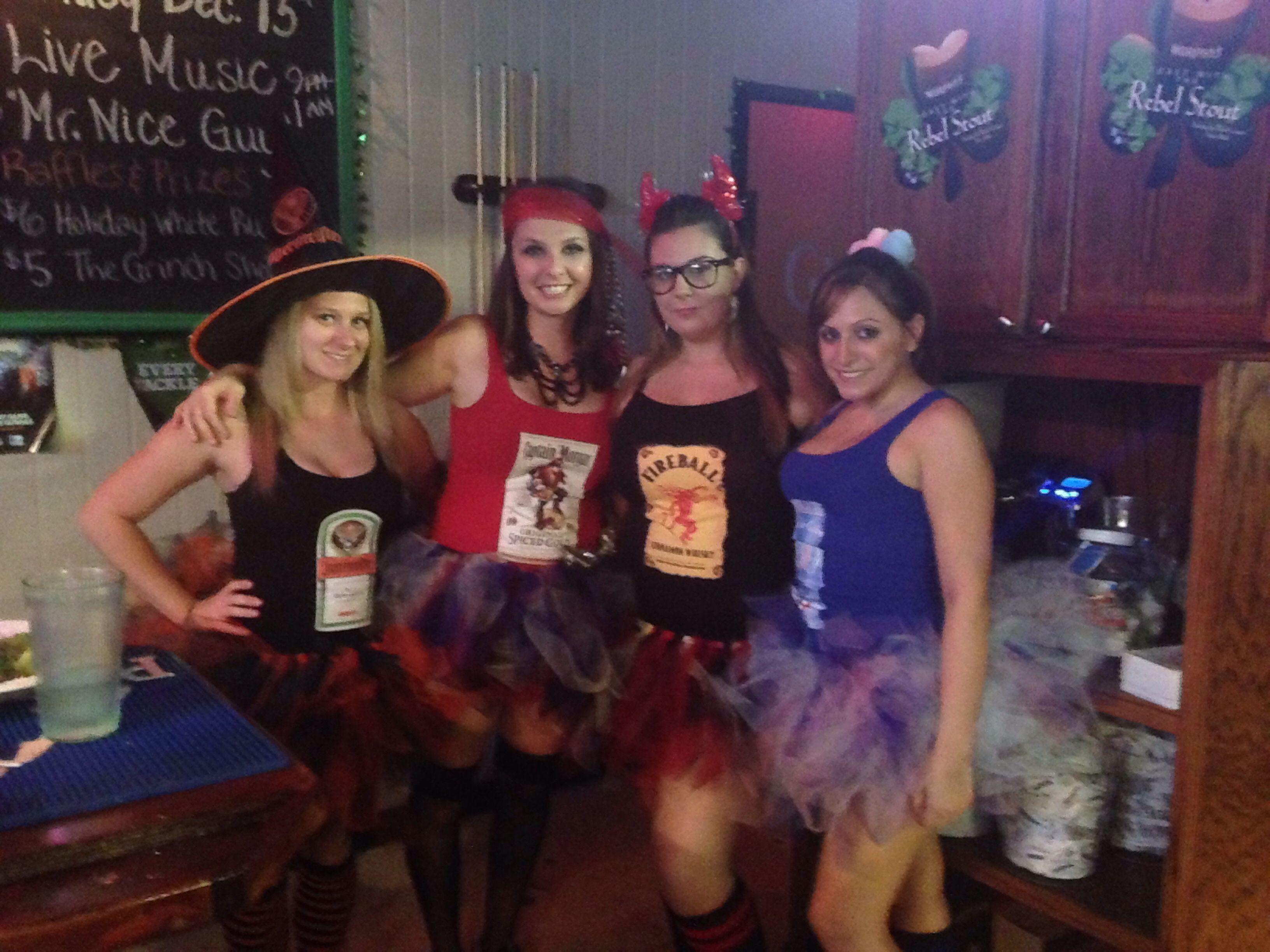 Jagermeister, Captain Morgan, Fireball, Pinnacle Cotton Candy ...