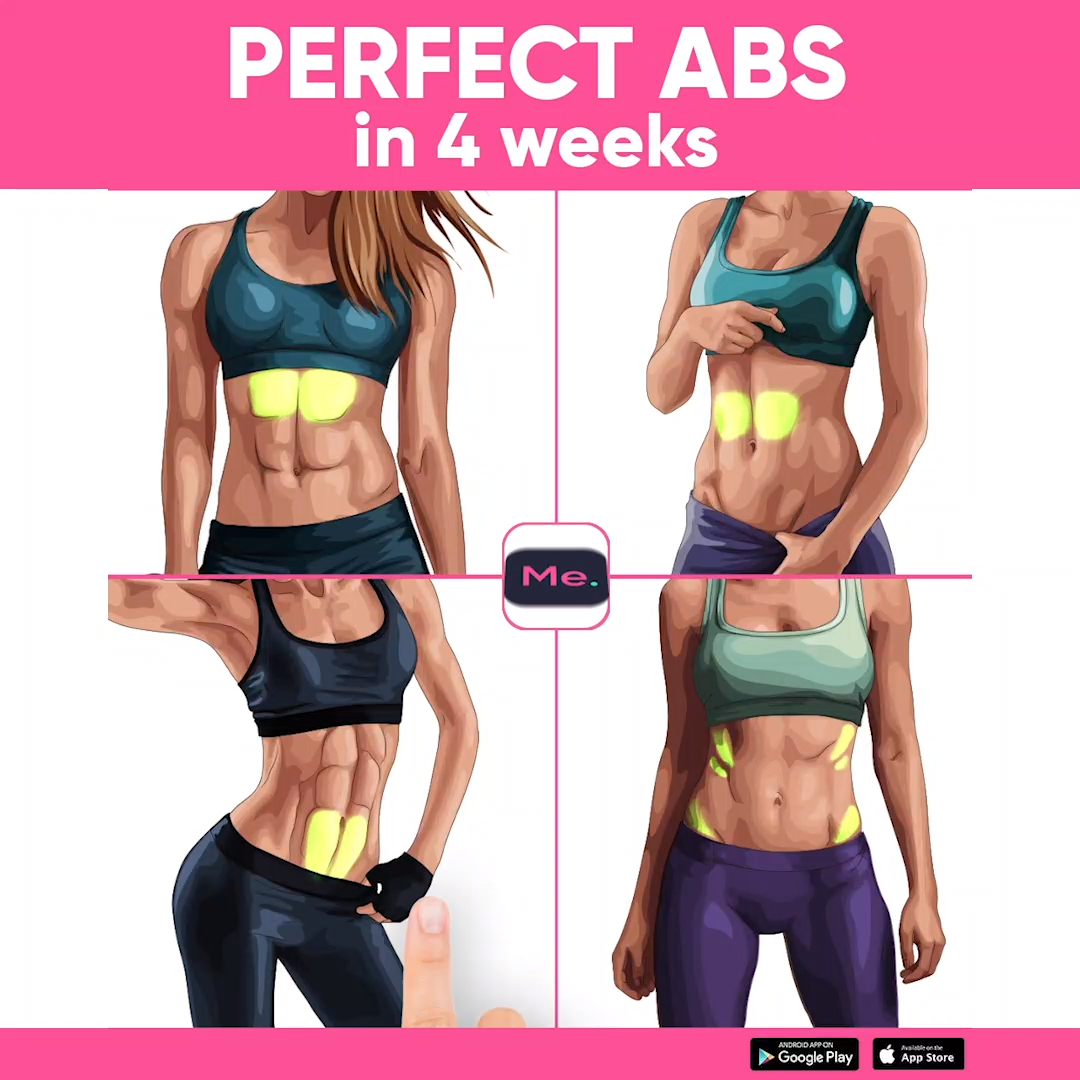 A workout for you to get perfect ABS! Exercises were created to reduce the size of the belly quick a...
