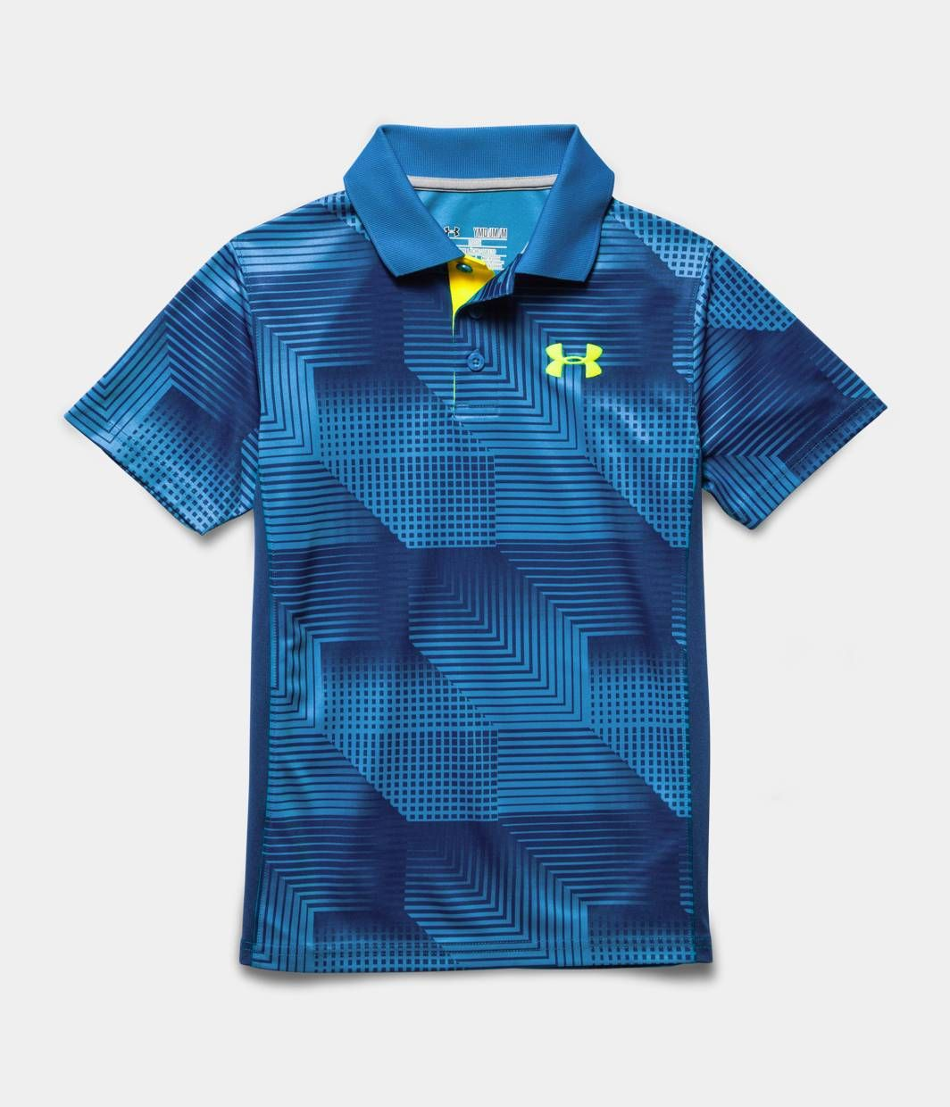9671a19795 Boys' UA Match Play Patterned Polo | Under Armour US | Shirts | Polo ...
