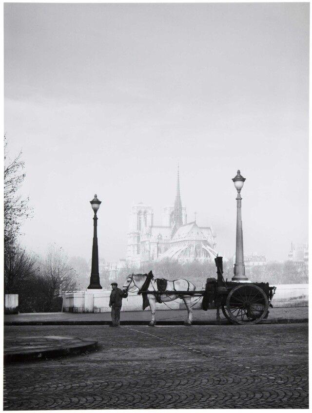 René -Jacques ( René Giton ), France : Pont de la Tournelle, Paris. 1940s