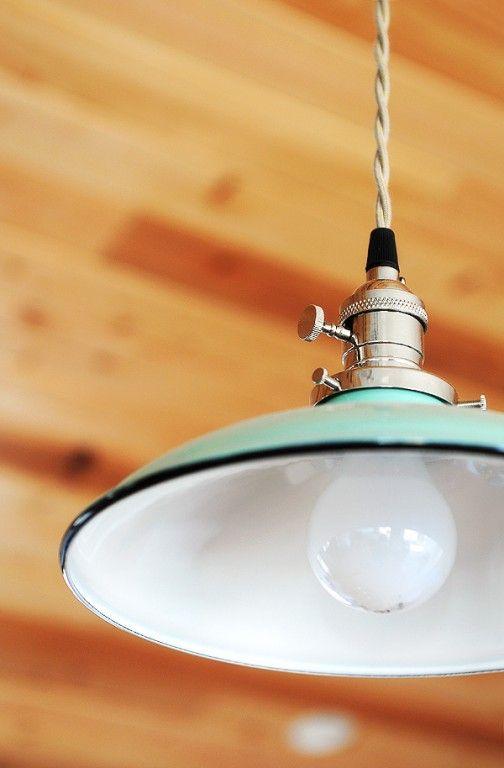 Blogger's DIY Renovations Take Shape with Porcelain Lighting | Blog | BarnLightElectric.com