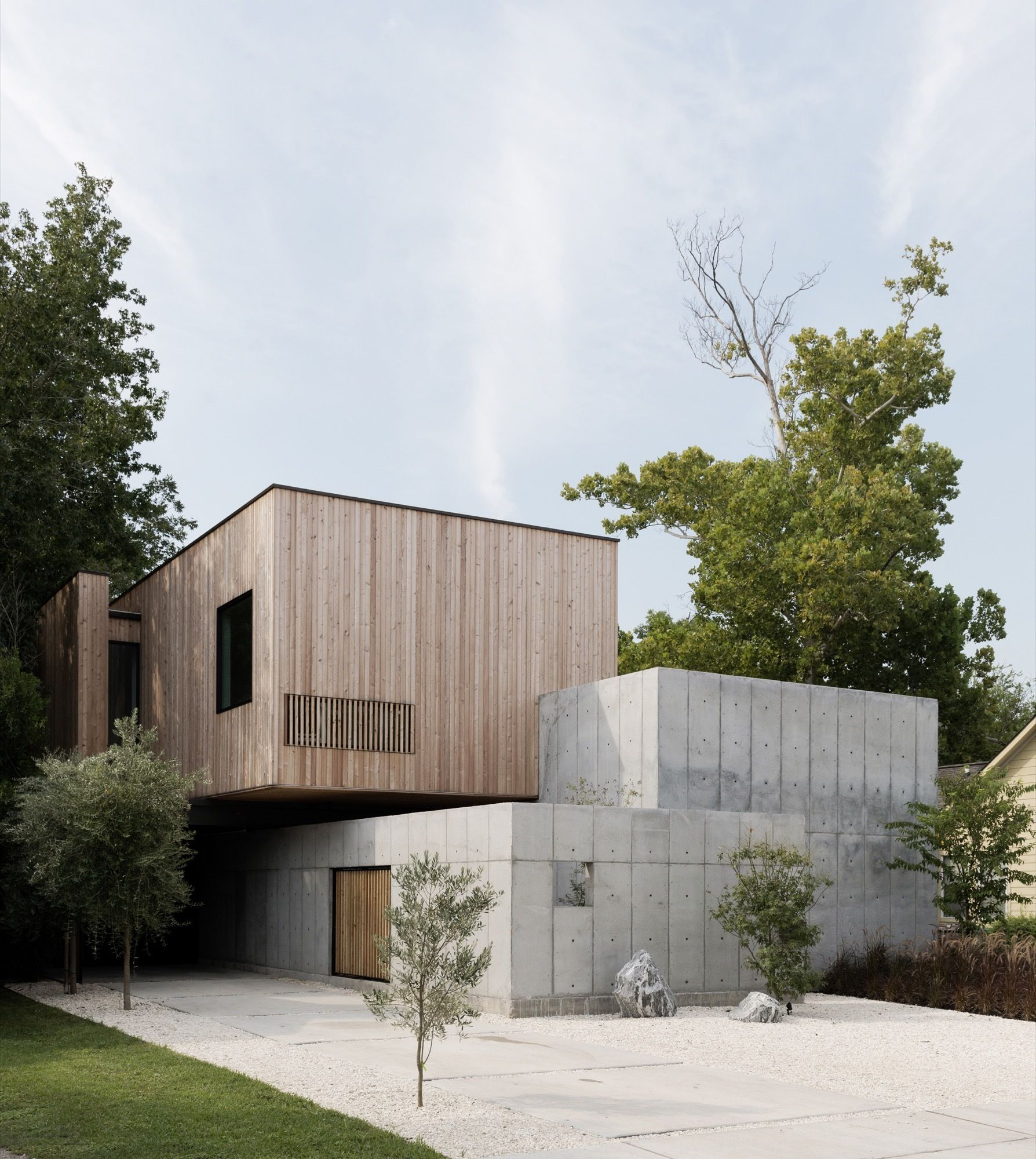 Gallery of Concrete Box House / Robertson Design - 6 | Pinterest ...