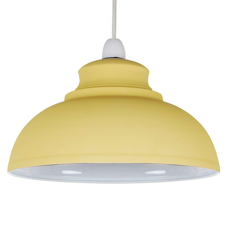 Kitchen Ceiling Lights Dunelm: Cosy Skandi Ochre Galley Pendant