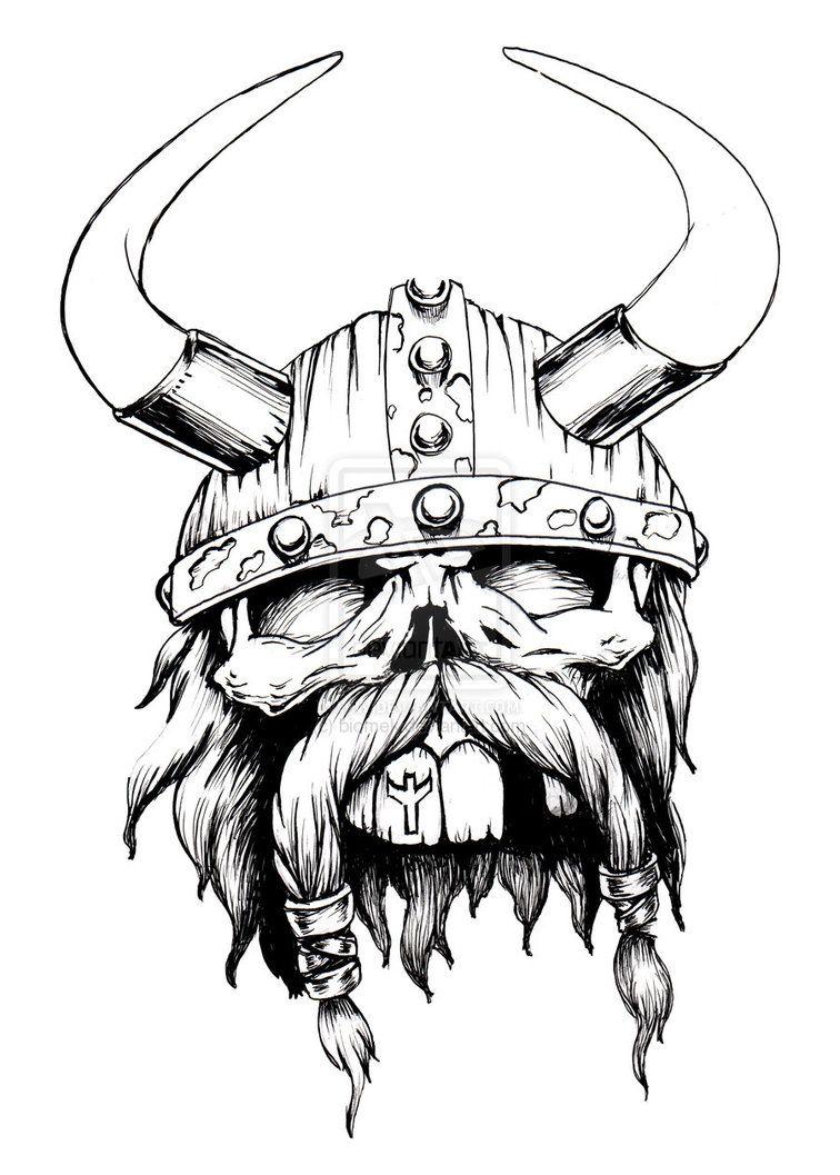 Pin De John Klinger En Vikings Viking Drawings Tattoo Drawings Y