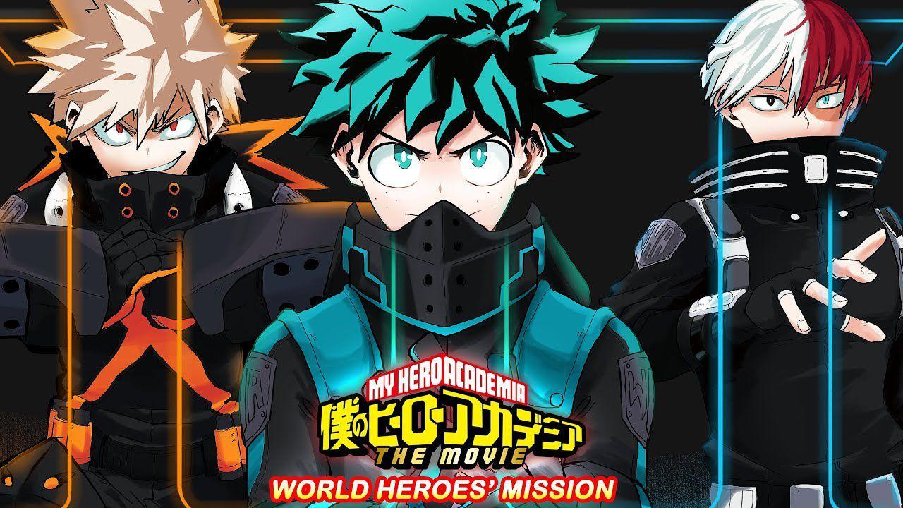 My Hero Academia The Movie World Heroes Mission Trailer Date Infos Otakuplayer In 2021 Hero World My Hero Academia Hero