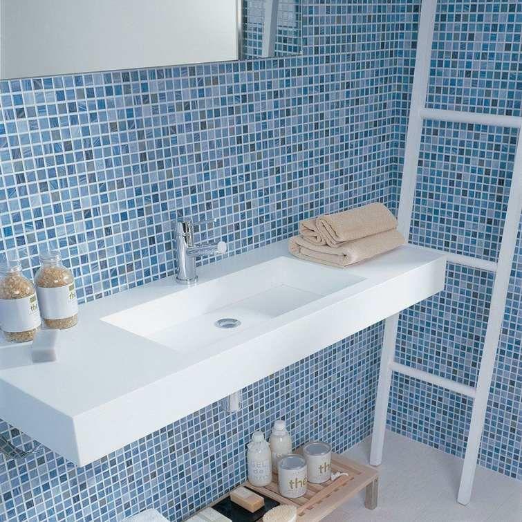 Carrelage bleu idées déco pour cuisine et salle de bain