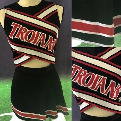 Details about Trojans Real Cheerleading Uniform Adult Xs #cheerleaderuniform