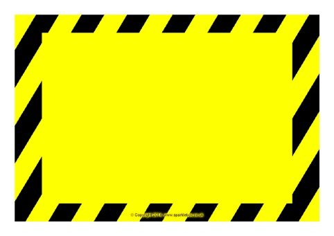 Danger Sign with skull - Download this printable Danger with skull - microsoft word sign template