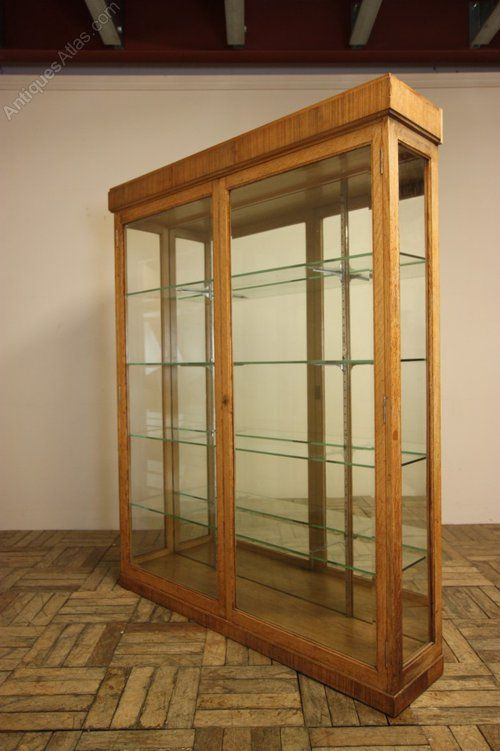 English Antique Oak Display Cabinet. - Antiques Atlas - English Antique Oak Display Cabinet. - Antiques Atlas ANTIQUE HUNT