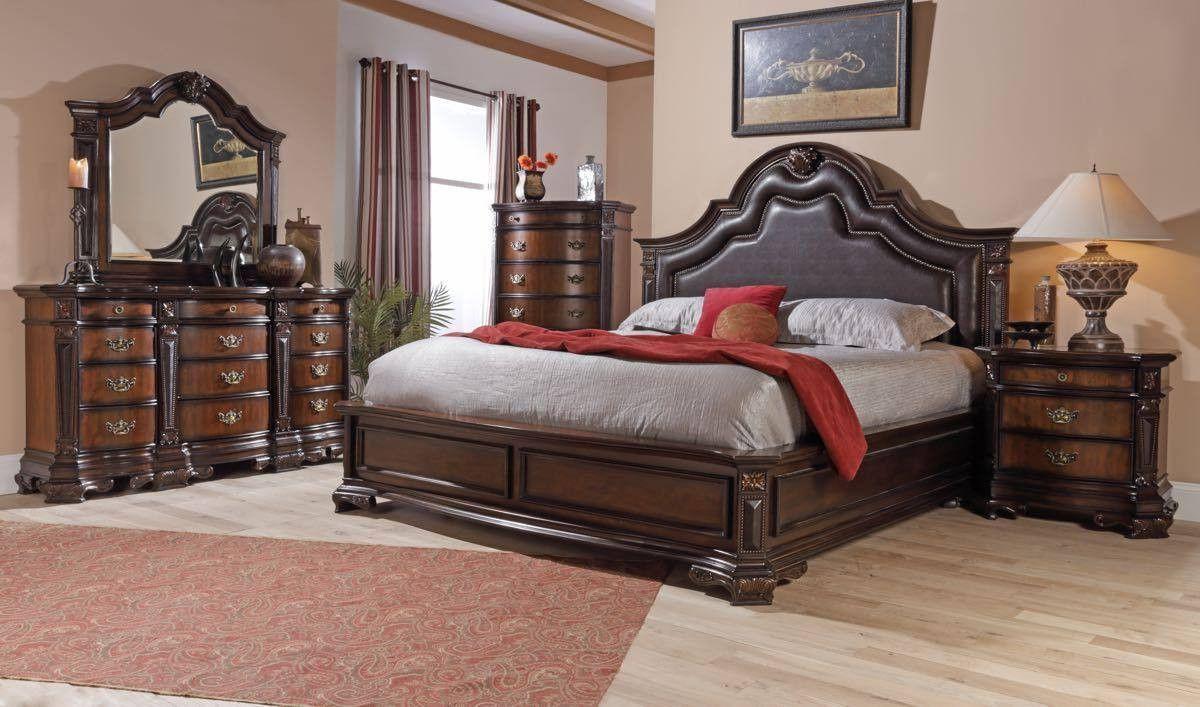Lifestyle 4258 King Bedroom Set King Bedroom Sets King Bedroom Bedroom Set