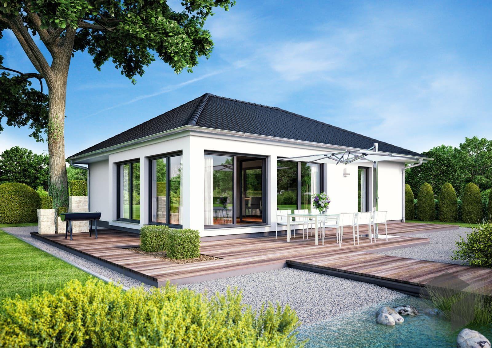 Großes Angebot an Häusern verschiedener Stile und Anbieter