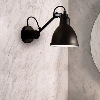 Contemporary Black Lampe Gras Bathroom Wall Light | Bathroom wall ...