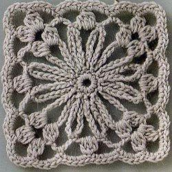 Crochet motif samples and Schemes  ... 17-6 (250x250, 36 ...   - ayyuc -