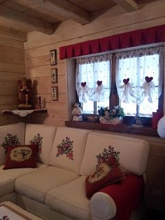 Arredamento case di montagna bottega del decoro mobili for Country house arredamento