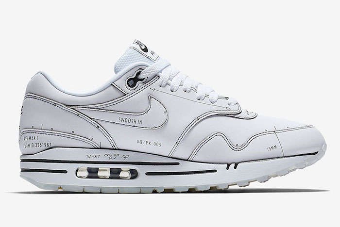 Official Pics of the Nike Air Max 1 'Schematic' Surface