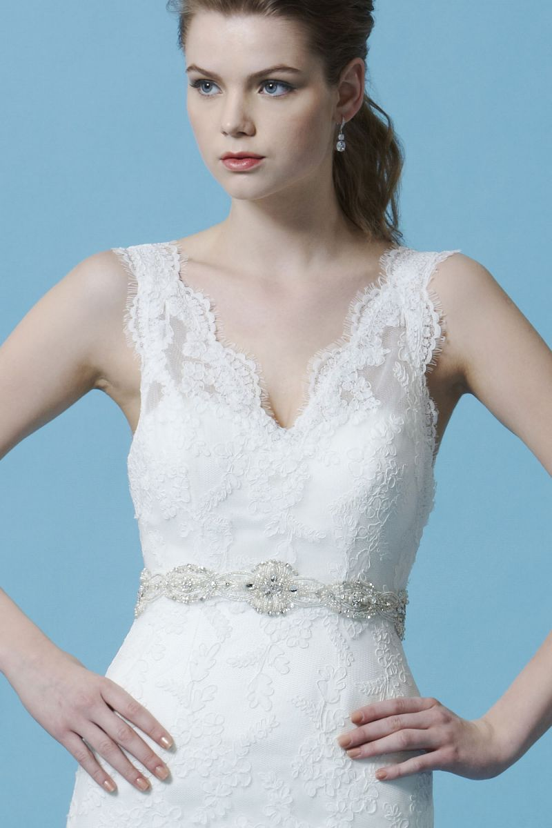 Gorgeous lace wedding dress aline silhouette bl dresses