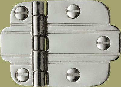 chrome surface hinge | Restoration Hardware | Pinterest | Hardware ...